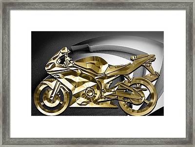 Ninja Motorcycle Collection Framed Print