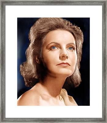 Ninotchka, Greta Garbo, Portrait Framed Print by Everett