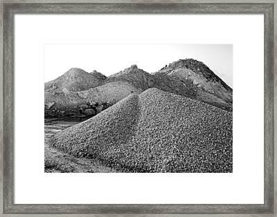 Nipple Mound Framed Print