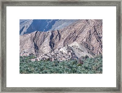 Nizwa - Oman Framed Print