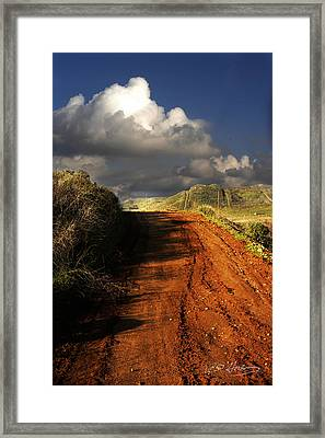 Noble Road Framed Print by Richard Gordon