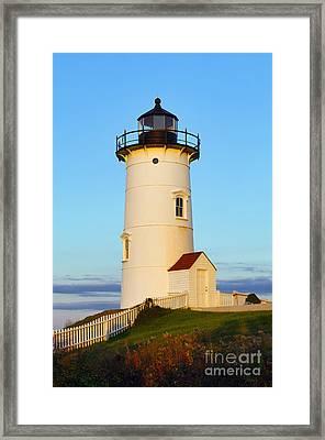 Nobska Point Light Framed Print