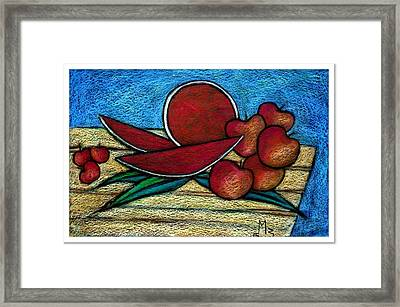 Nontitled Framed Print by Mahmoud Zayed