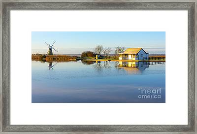 Norfolk Broads Framed Print by Svetlana Sewell