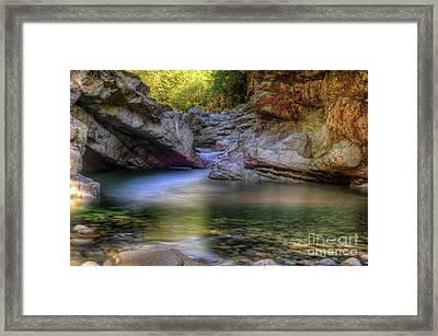 Norrish Pool Framed Print