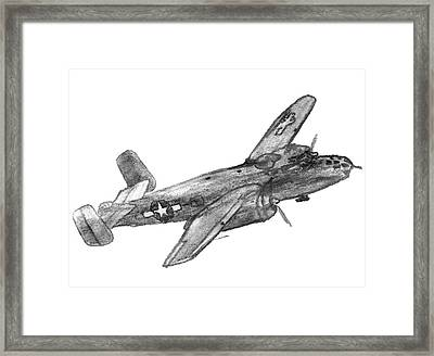 North American B-25 Mitchell Framed Print
