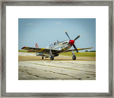 North American Tp-51c Mustang Framed Print