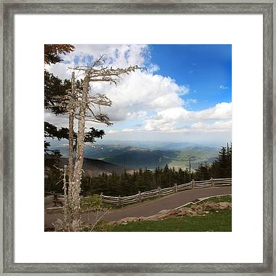 North Carolina High Country Framed Print