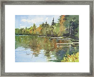 North Country Reflections Framed Print