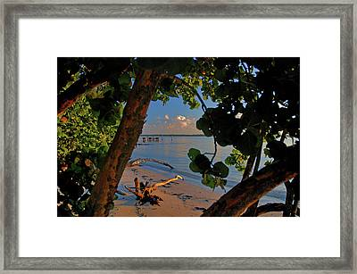 Framed Print featuring the photograph 1- North Palm Beach by Joseph Keane