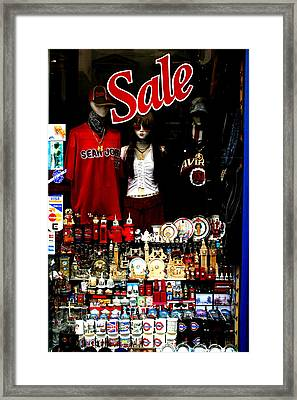 Not For Sale Framed Print by Jez C Self