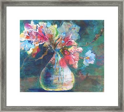 Not Your Mothers Vase Framed Print