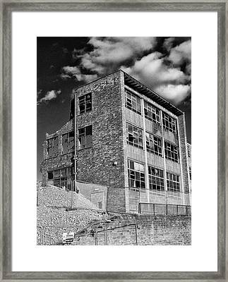Nothing Inside Framed Print by Philip Openshaw