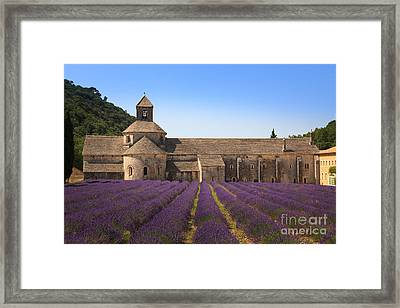 Notre-dame De Senanque  Abbey Provence France Framed Print