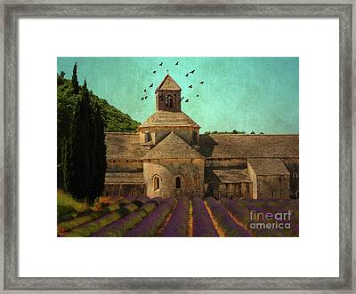 Notre-dame De Senanque Framed Print