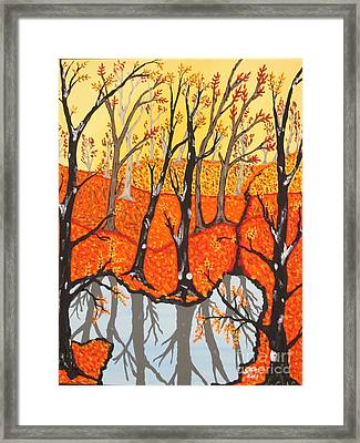 November Morning  Framed Print by Jeffrey Koss