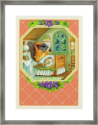 Now What Did I Forget? Framed Print by Lynn Bywaters