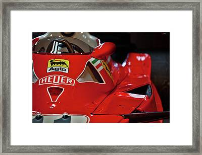 Number 11 By Niki Lauda #print Framed Print