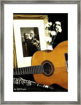 Framed Print featuring the photograph Number 2 by Elf Evans