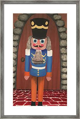 Framed Print featuring the painting Nutcracker Sweet by Thomas Blood