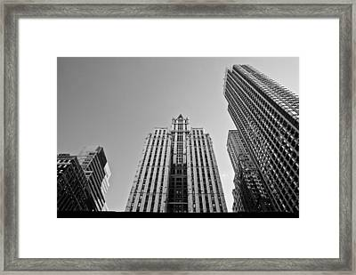 Nyc Buildings Framed Print by Patrick  Flynn