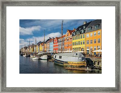 Nyhavn Canal Framed Print