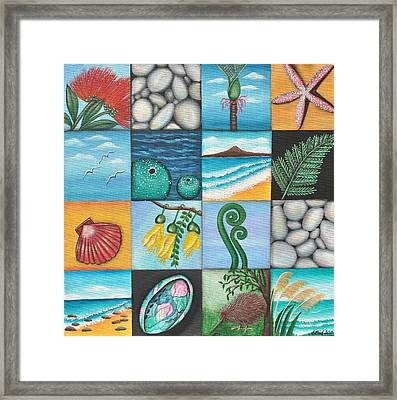 Nz Treasures Framed Print by Astrid Rosemergy
