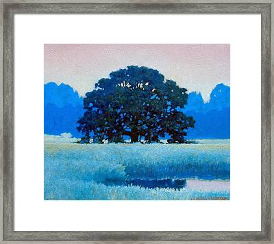 Oak Tree Framed Print by Kevin Lawrence Leveque
