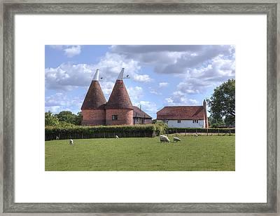 Oast House In Kent - England Framed Print