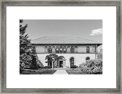Oberlin College Cox Administration Building Framed Print
