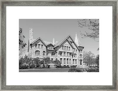 Oberlin College Talcott Hall Framed Print by University Icons