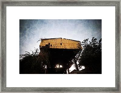 Obsolete Building Framed Print by Kam Chuen Dung