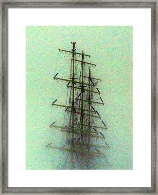 Occurrence From Snowstorm Framed Print by Yury Bashkin