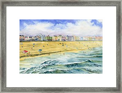 Ocean City Maryland Framed Print by Melly Terpening