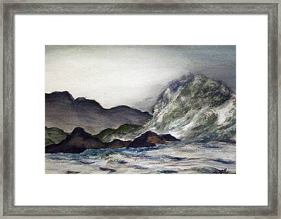 Ocean Emotion Release Framed Print by Tammera Malicki-Wong