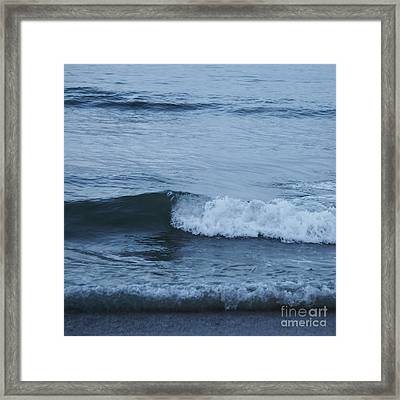 Ocean Framed Print by HD Connelly