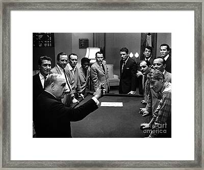 Ocean's 11 Promotional Photo. Framed Print by The Titanic Project