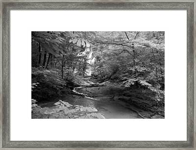 Oconee Station Waterfall  Framed Print