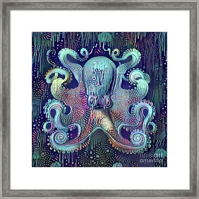 Octopus Framed Print