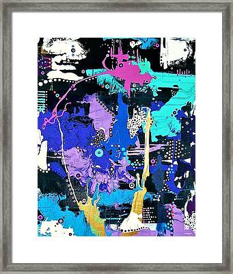 Of Moonbeams And Mad-hatters Framed Print