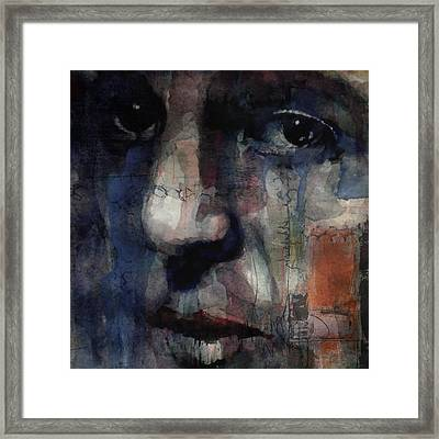 Oh Darling  Framed Print by Paul Lovering