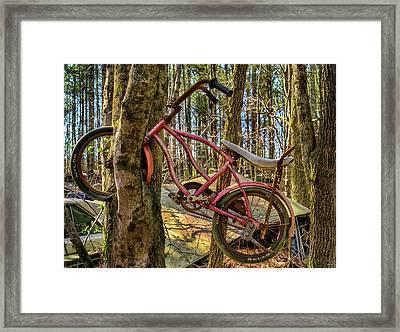 Oh No Framed Print by Dennis Dugan