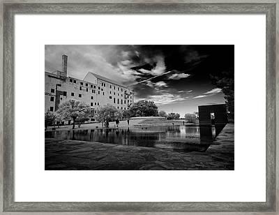Okc Memorial Framed Print