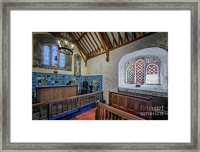 Old Chapel Framed Print by Adrian Evans