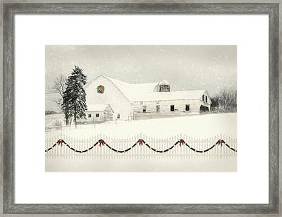 Old Fashioned Christmas Framed Print