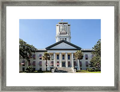 Old Florida Capitol Framed Print by Frank Feliciano