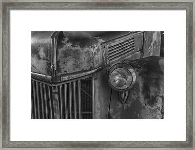 Old Ford Pickup Framed Print by Garry Gay