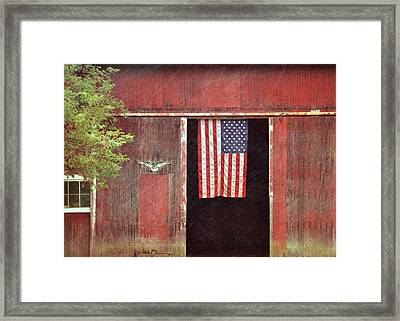 Old Glory Framed Print by JAMART Photography