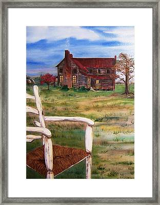 Old Home  Framed Print by Penny Everhart