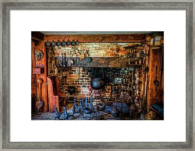 Old Kitchen Framed Print
